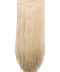 Termofibra extension capelli a clip, capelli lisci