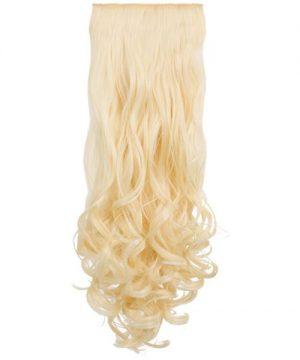 Termofibra extension capelli a clip, capelli mossi