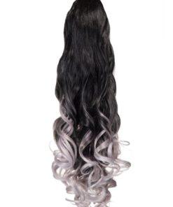 Coda di cavallo Ombre capelli ondulati