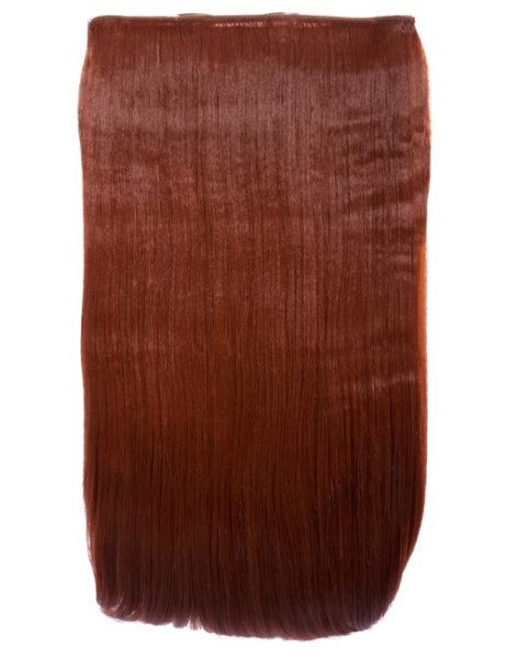 Extension a clip – Liscia – #350 Rosso rame
