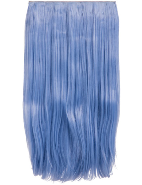 Extension a clip – Colorata – #T4020 Blu celeste