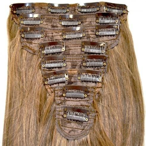 extension capelli con clip